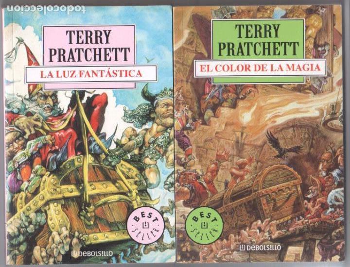 terry pratchett nºs 1 y 2 - la luz fantástica - - Comprar Libros de ...
