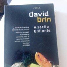 Libros de segunda mano: ARRECIFE BRILLANTE DE DAVID BRIN (LOS PUPILOS 4) FINALISTA PREMIOS HUGO Y LOCUS 1996. Lote 102266675