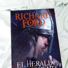 Libros de segunda mano: LIBRO FANTASIA EPICA EL HERALDO DE LA TORMENTA. Lote 102319359