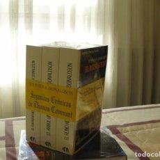 Libros de segunda mano: TRILOGÍA SEGUNDAS CRÓNICAS DE THOMAS COVENANT - STEPHEN R. DONALDSON - NUEVOS, PRECINTADOS. Lote 102700551