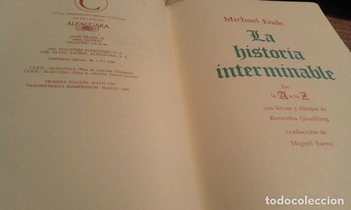 Libros de segunda mano: La historia interminable - Michael Ende - Foto 6 - 140107721