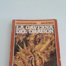 Libros de segunda mano: ALTEA JUNIOR - LA BUSQUEDA DEL GRIAL 2 - LA CAVERNA DEL DRAGÓN. Lote 102932003
