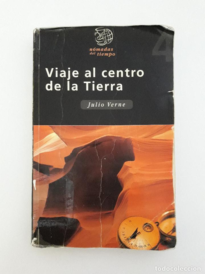 LIBRO - VIAJE AL CENTRO DE LA TIERRA - JULIO VERNE - ED EDEBE (Libros de Segunda Mano (posteriores a 1936) - Literatura - Narrativa - Ciencia Ficción y Fantasía)