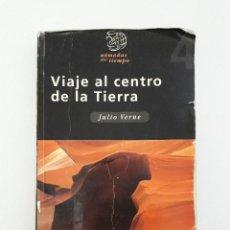 Libros de segunda mano: LIBRO - VIAJE AL CENTRO DE LA TIERRA - JULIO VERNE - ED EDEBE. Lote 103050751