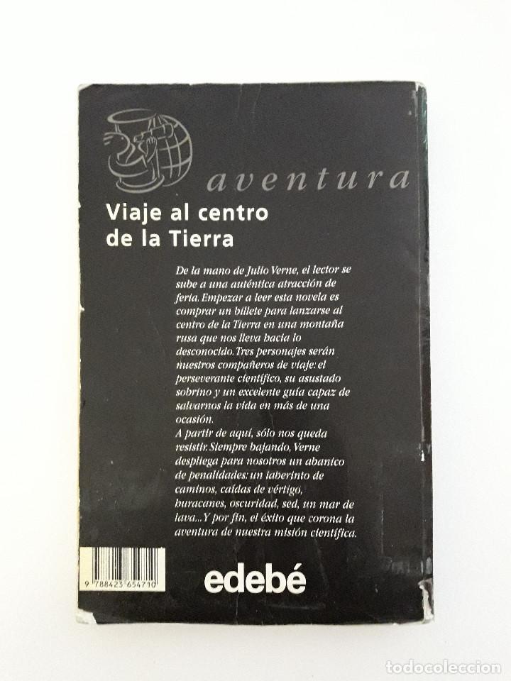 Libros de segunda mano: Libro - Viaje al Centro de la Tierra - Julio Verne - Ed Edebe - Foto 2 - 103050751