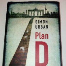 Libros de segunda mano: SIMON URBAN - PLAN D. Lote 103283587