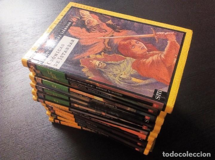 COLECCIÓN EL NAVEGANTE SM FANTASÍA Y CIENCIA FICCIÓN LOTE DE 11 LIBROS. VER FOTOS Y DESCRPCIÓN (Libros de Segunda Mano (posteriores a 1936) - Literatura - Narrativa - Ciencia Ficción y Fantasía)