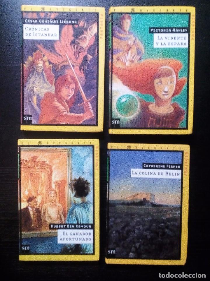 Libros de segunda mano: COLECCIÓN EL NAVEGANTE SM FANTASÍA Y CIENCIA FICCIÓN LOTE DE 11 LIBROS. VER FOTOS Y DESCRPCIÓN - Foto 3 - 103367143