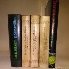 Libros de segunda mano: BIBLIOTECA TOLKIEN ÚNICA RARA ENCUADERNACIÓN PIEL EL SEÑOR DE LOS ANILLOS. Lote 103465100