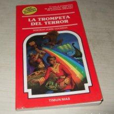 Libros de segunda mano: LIBRO ELIGE TU PROPIA AVENTURA (LA TROMPETA DEL TERROR) NUM. 46 TIMUN MAS. Lote 103592911