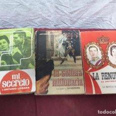 Libros de segunda mano: LIBROS DE NESTLE... MI SECRETO... LA RENUNCIA Y LA SOLTERA MILLONARIA DE A. LOSADA. Lote 103641355