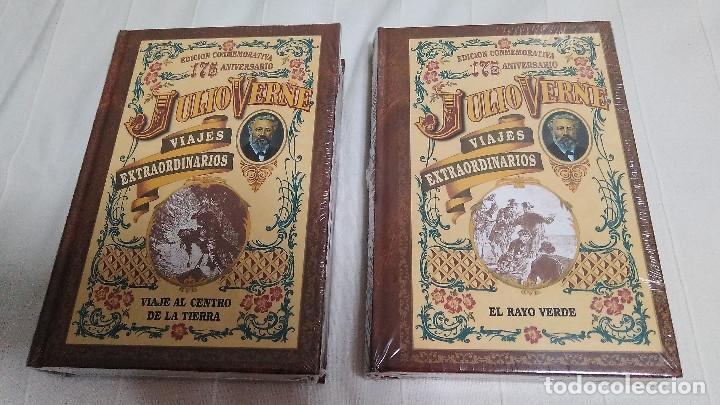 Libros de segunda mano: COLECCIÓN VIAJES EXTRAORDINARIOS - JULIO VERNE - 8 LIBROS ¡NUEVOS! - Foto 3 - 103723359