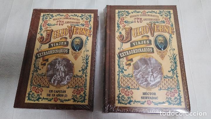 Libros de segunda mano: COLECCIÓN VIAJES EXTRAORDINARIOS - JULIO VERNE - 8 LIBROS ¡NUEVOS! - Foto 5 - 103723359