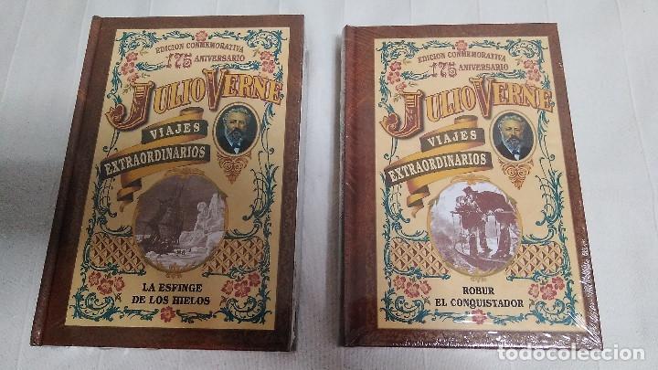 Libros de segunda mano: COLECCIÓN VIAJES EXTRAORDINARIOS - JULIO VERNE - 8 LIBROS ¡NUEVOS! - Foto 6 - 103723359