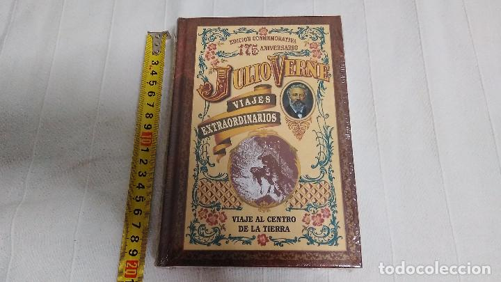 Libros de segunda mano: COLECCIÓN VIAJES EXTRAORDINARIOS - JULIO VERNE - 8 LIBROS ¡NUEVOS! - Foto 8 - 103723359