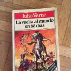 Libros de segunda mano: LIBRO JULIO VERNE LA VUELTA AL MUNDO EN 80 DIAS TODOLIBRO BRUGUERA. Lote 103921895