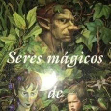 Libros de segunda mano: COLECCIÓN SERES MÁGICOS DE ESPAÑA 3 TOMOS HADAS DUENDES Y GNOMOS. Lote 104045415