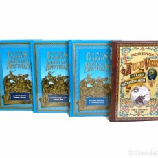 Libros de segunda mano: NOVELAS DE AVENTURAS - LOTE DE 4 LIBROS - GAUTIER, HOPE, FENIMORE COOPER, JULIO VERNE - TAPA DURA. Lote 104072499