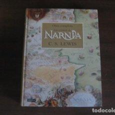 Libros de segunda mano: LAS CRONICAS DE NARNIA - OBRA COMPLETA - C.S. LEWIS - DESTINO PLANETA. Lote 104083163