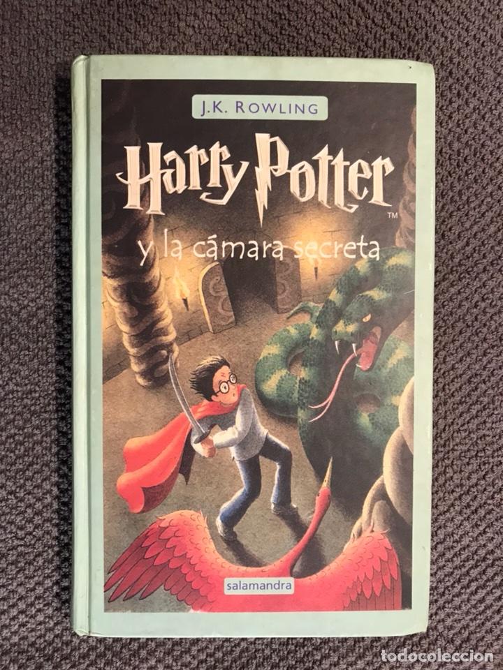 HARRY POTTER. Y LA CAMARA SECRETA, POR J.K.ROWLING (A.2002) (Libros de Segunda Mano (posteriores a 1936) - Literatura - Narrativa - Ciencia Ficción y Fantasía)
