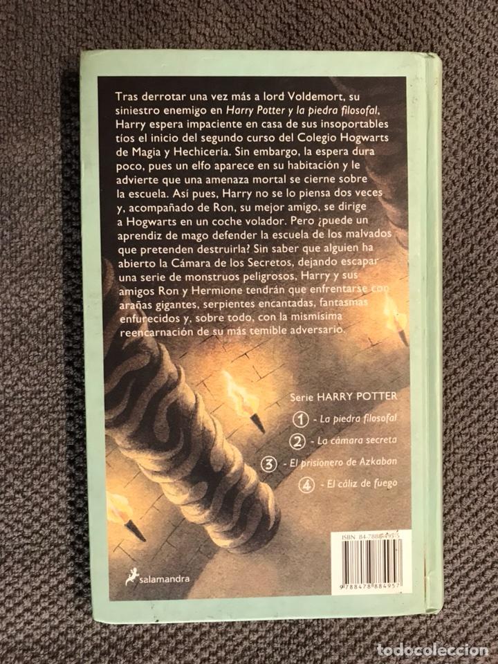 Libros de segunda mano: HARRY POTTER. Y la Camara Secreta, por J.K.Rowling (a.2002) - Foto 3 - 104097079
