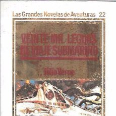 Libros de segunda mano: VEINTE MIL LEGUAS DE VIAJE SUBMARINO.JULIO VERNE. EDICIONES ORBIS, S.A. 1984.. Lote 104112971