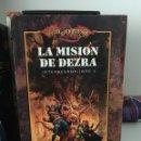 Libros de segunda mano: ¡¡¡DRAGONLANCE. LIBRO LA MISIÓN DE DEZRA. CHRIS PIERSON. TIMUN MAS. AÑO 2001!!!. Lote 104284791