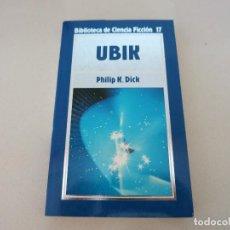 Libros de segunda mano: UBIK CIENCIA FICCION ORBIS DICK 17. Lote 104504723