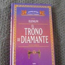 Libros de segunda mano: EL TRONO DE DIAMANTE. DAVID EDDINGS. VOL 2. TIMUN MAS. Lote 104613371