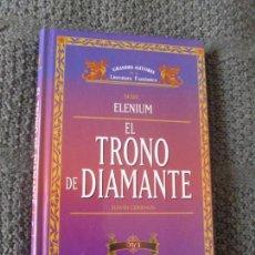 Libros de segunda mano: EL TRONO DEL DIAMANTE. EDDINGS. VOL 1. TIMUN MAS. Lote 104613467