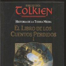 Libros de segunda mano: EL LIBRO DE LOS CUENTOS PERDIDOS I. CHRISTOPHER TOLKIEN. PLANETA DEAGOSTINI MINOTAURO. Lote 105032447