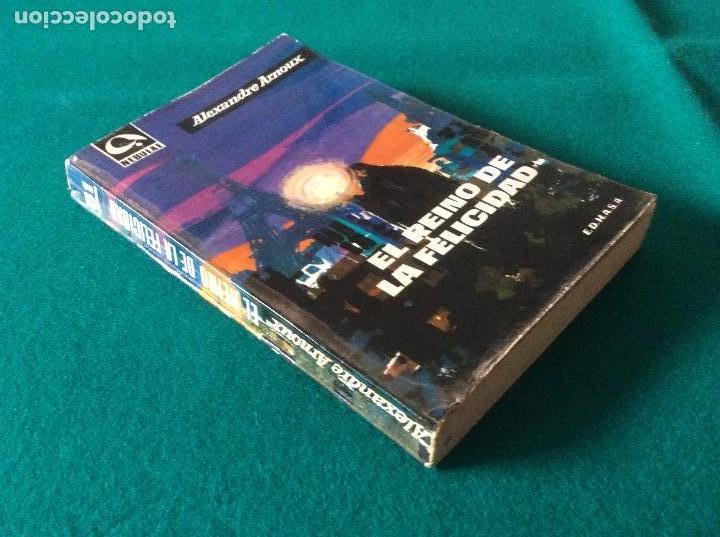 Libros de segunda mano: EL REINO DE LA FELICIDAD DE ALEXANDRE ARNOUX E.D.H.A.S.A. AÑO 1962 NEBULAE Nº 81 - Foto 2 - 105329423
