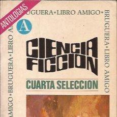 Libros de segunda mano: LIBRO-CIENCIA FICCION SELECCION 4 BRUGUERA ZELAZNY PHILIP K DICK KOENTZ. Lote 105577579