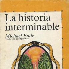 Libros de segunda mano: LA HISTORIA INTERMINABLE, MICHAEL ENDE. Lote 105674195