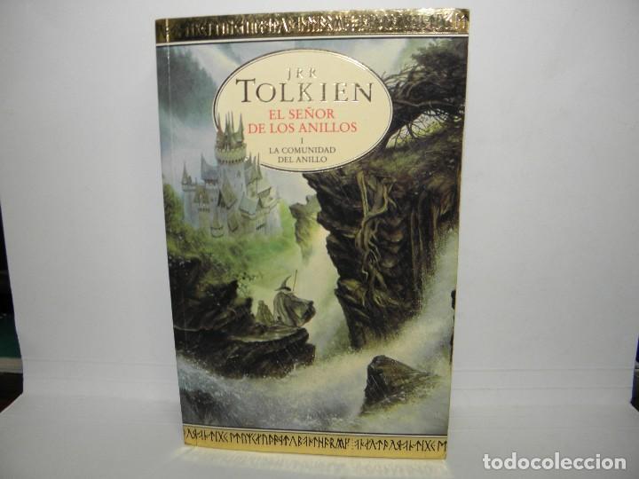 LIBRO EL SEÑOR DE LOS ANILLOS I LA COMUNIDAD DEL ANILLO DE JRR TOLKIEN (Libros de Segunda Mano (posteriores a 1936) - Literatura - Narrativa - Ciencia Ficción y Fantasía)