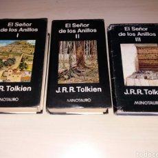 Libros de segunda mano - EL SEÑOR DE LOS ANILLOS I, II y III - MINOTAURO - 105742299