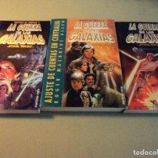 Libros de segunda mano: LA G. DE LAS GALAXIAS-STAR WARS DE LA TRILOGÍA DE CORELLIA Nº 2 Y 3 MAS EL IMPERIO CONTRAATACA. Lote 107341035