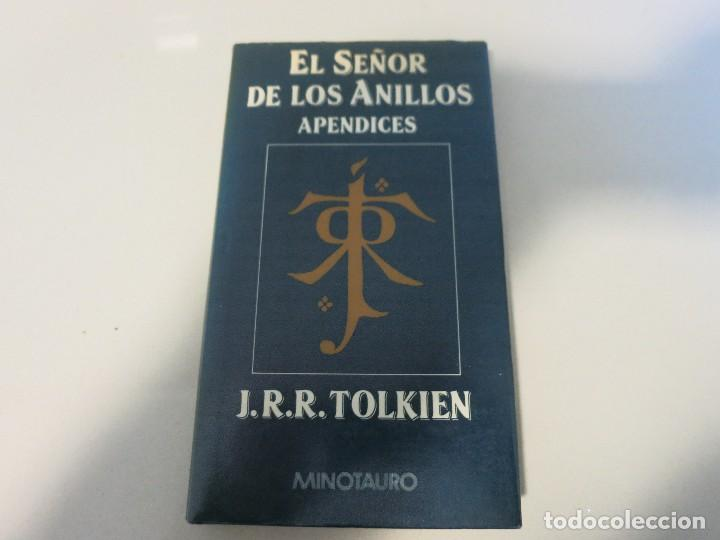 SEÑOR ANILLOS APENDICES MINOTAURO TOLKIEN PRIMERA EDICION (Libros de Segunda Mano (posteriores a 1936) - Literatura - Narrativa - Ciencia Ficción y Fantasía)