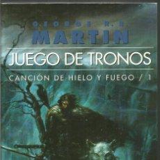 Libros de segunda mano: GEORGE R.R. MARTIN. JUEGO DE TRONOS. CANCION DE HIELO Y FUEGO /1 GIGAMESH. Lote 106573203