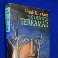 Libros de segunda mano: URSULA K. LE GUIN: LOS LIBROS DE TERRAMAR. Lote 106587175