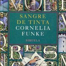 Libros de segunda mano: FUNKE: SANGRE DE TINTA. Lote 107401875