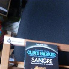 Libros de segunda mano: SANGRE - CLIVE BARKER (SUPER TERROR MARTÍNESZ ROCA) VER FOTOS . Lote 115238204