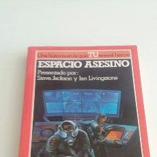 Libros de segunda mano: ALTEA JUNIOR - LUCHA FICCIÓN 12 - ESPACIO ASESINO. Lote 108047771
