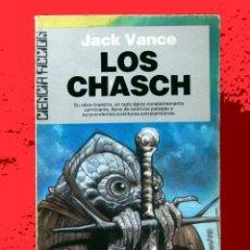 Libros de segunda mano: JACK VANCE, LOS CHASCH, CICLO TSCHAI - EDITA ULTRAMAR, Nº 25- 1986, PRIMERA EDICIÓN.. Lote 108920355