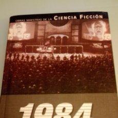 Libros de segunda mano - 1984 , El Gran Hermano te vigila, libro de George Orwell / obras maestras de la ciencia ficcion - 109122195
