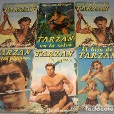Libros de segunda mano - Edgar Rice Burroughs - Diez novelas de Tarzán - Editorial Gustavo Gili Años 60'. Ver detalle - 109415831