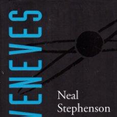 Libros de segunda mano: NOVELA SEVENEVES (SIETE EVAS) - NEAL STEPHENSON; NOVA; TAPAS DURAS. Lote 110061887