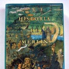 Libros de segunda mano: HISTORIA DE MERLÍN. VOLUMEN I. SELECCIÓN DE LECTURAS MEDIEVALES.. Lote 110070643
