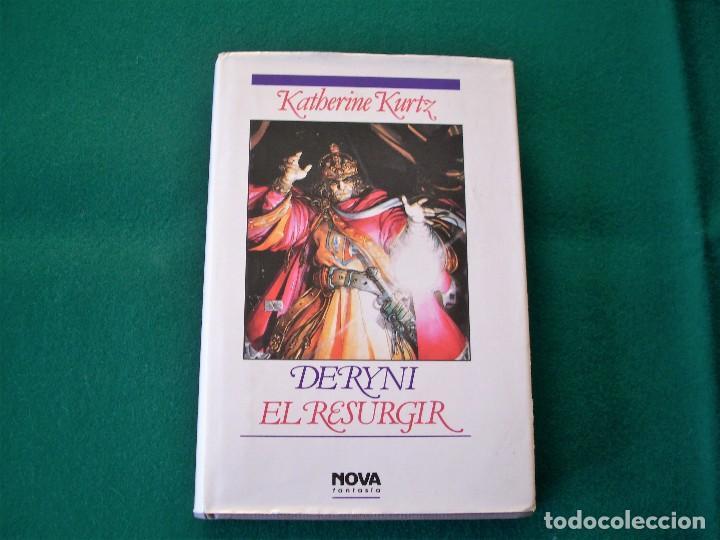 Libros de segunda mano: DERYNI - EL RESURGIR - JAQUE MATE - LA GRANDEZA - KATHERINE KURTZ - NOVA FANTASÍA - EDICIONES B.1991 - Foto 7 - 110733071