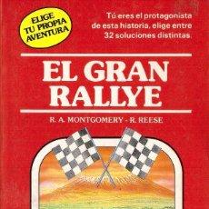 Libros de segunda mano: ELIGE TU PROPIA AVENTURA, Nº 7: EL GRAN RALLYE - TIMUN MAS. Lote 111388779